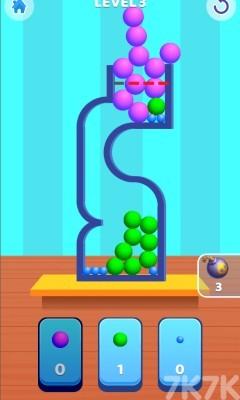 《小球装瓶》游戏画面2
