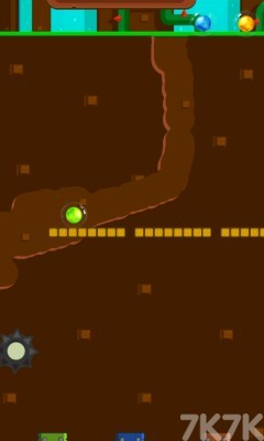 《挖沙引球2選關版》游戲畫面4