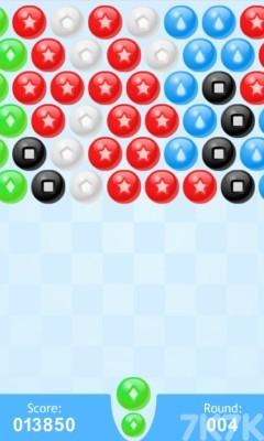《发射泡泡球》游戏画面3