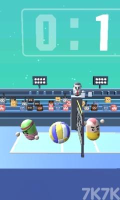 《疯狂排球》游戏画面2