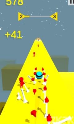 《炮弹滚动》游戏画面2