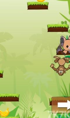 《小猴子丛林跳跃》游戏画面4