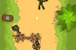《狂暴的战士》游戏画面1