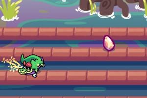《鳄鱼速滑挑战》游戏画面1