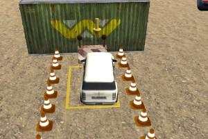 《障碍场地停车》游戏画面1