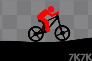 《火柴人自行車無敵版》游戲畫面1