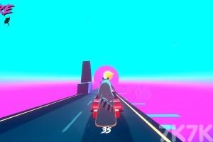 《狸猫日落速滑》游戏画面4