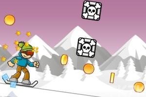 《冰山滑雪》游戏画面2
