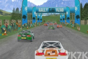 《拉力车挑战赛》游戏画面1