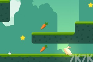 《贪吃的小兔子》游戏画面2