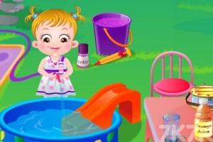 《可爱宝贝过家家H5》游戏画面1
