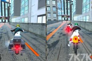《城市摩托車競賽》游戲畫面3