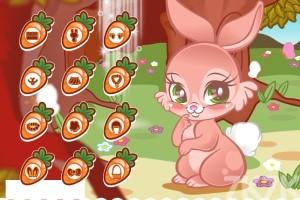 《可爱的兔子》游戏画面1