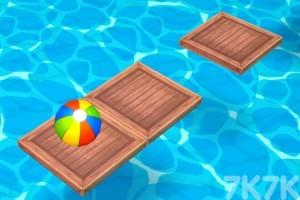 《沙滩球大挑战选关版》游戏画面2