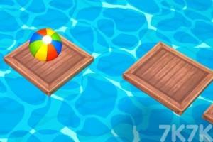 《沙滩球大挑战选关版》游戏画面4