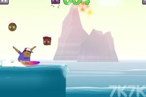 《怪物海滩冲浪》游戏画面3