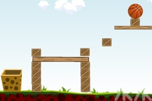 《篮球进蓝框》游戏画面4