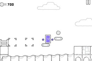 《紫方块的世界》游戏画面2