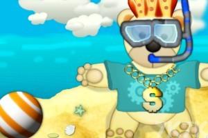 《泰迪熊沙滩换装》游戏画面3