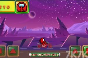《太空人摩托驾驶》游戏画面1