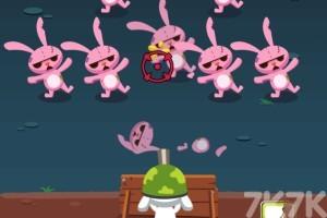 《兔子防卫战》游戏画面3