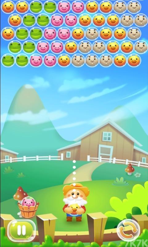 《农场泡泡龙》游戏画面1
