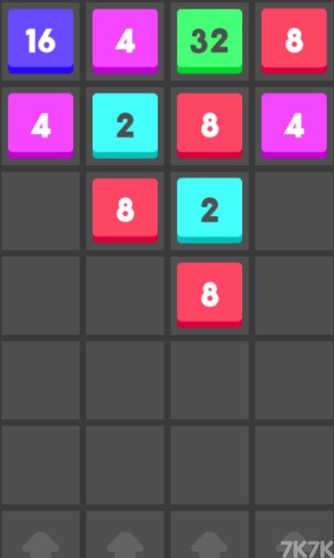 《2048数字方块》游戏画面2