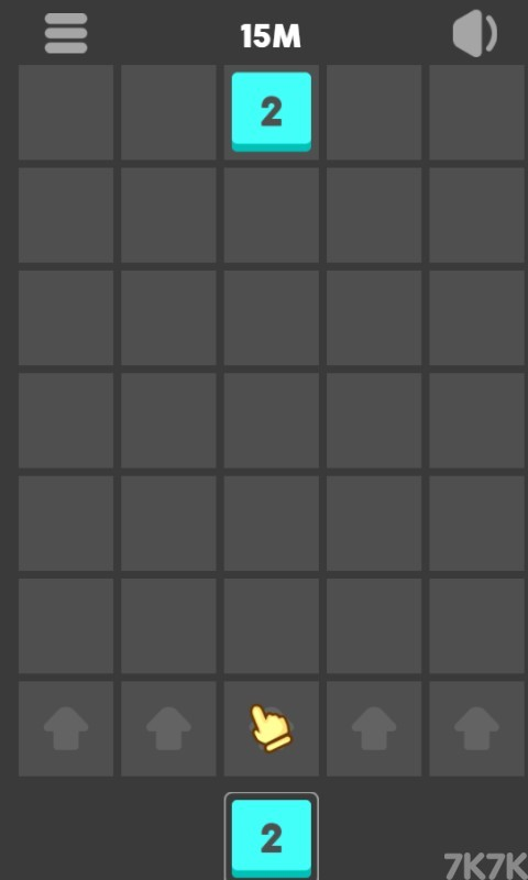 《2048数字方块》游戏画面1