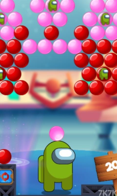 《太空泡泡泡》游戏画面1