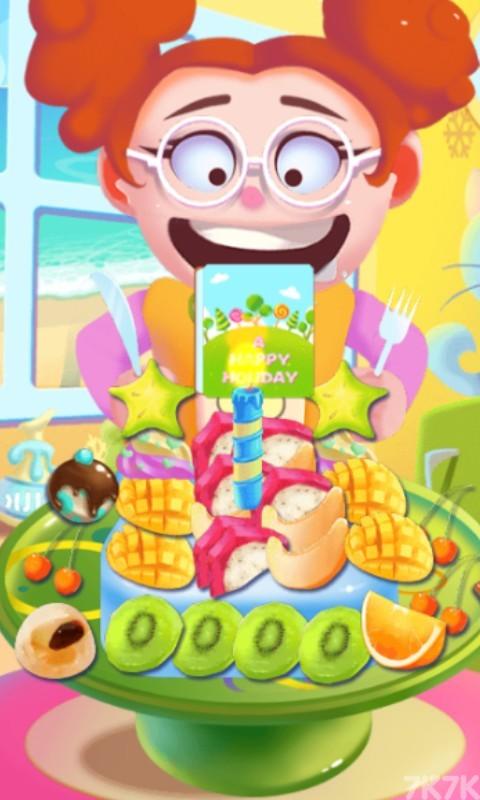 《创意水果蛋糕》游戏画面1