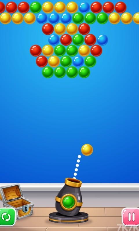 《泡泡龙大挑战》游戏画面1