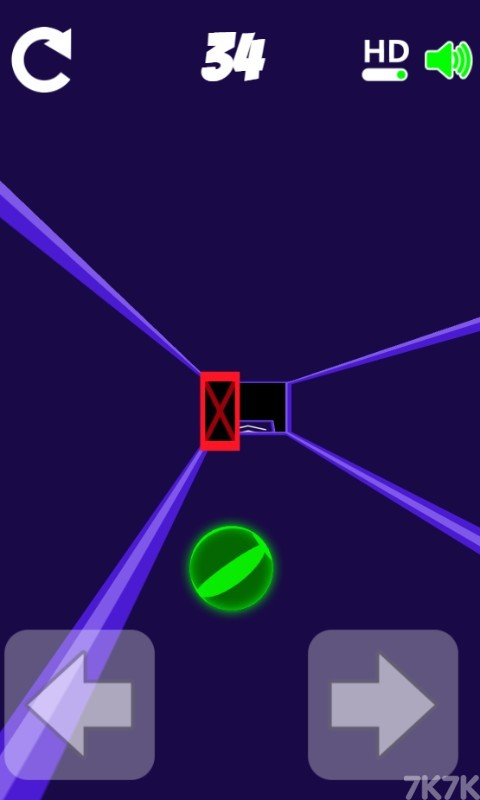 《滚动的小球》游戏画面3