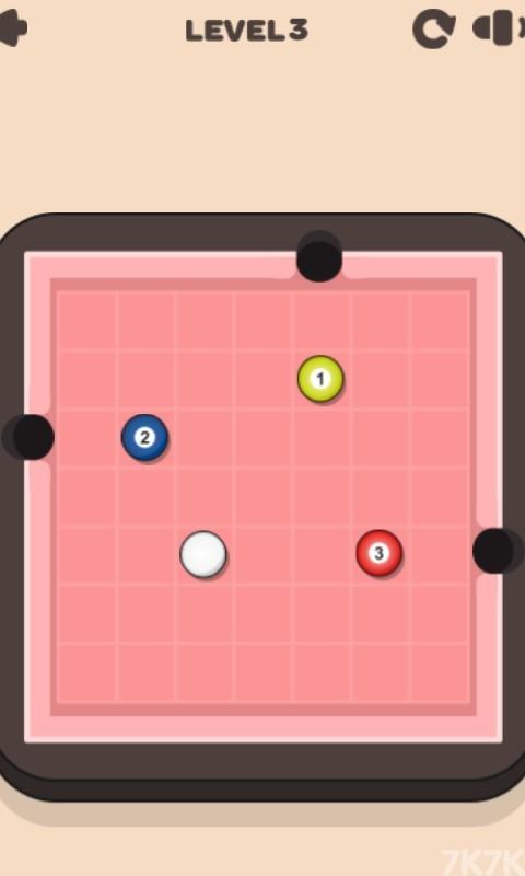 《碰撞球球》游戏画面1
