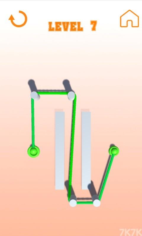 《彩色绳子》游戏画面1