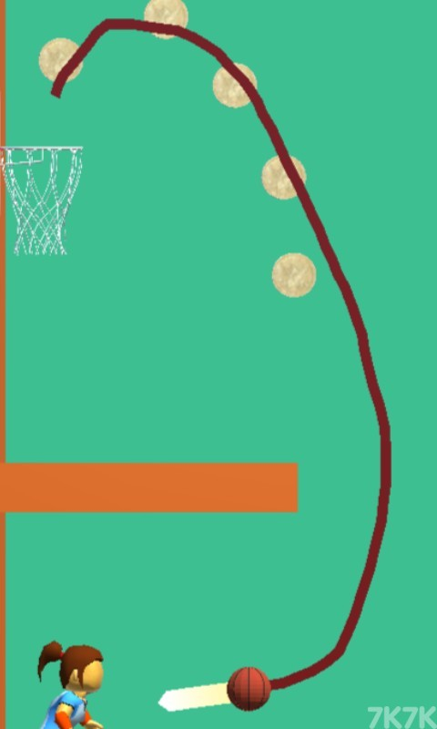 《画线扣篮》游戏画面3