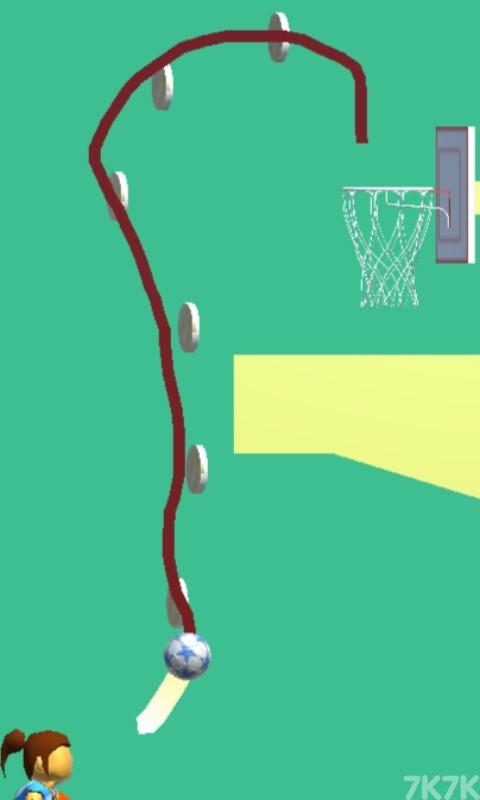 《画线扣篮》游戏画面4