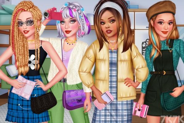 《千禧少女派对》游戏画面1