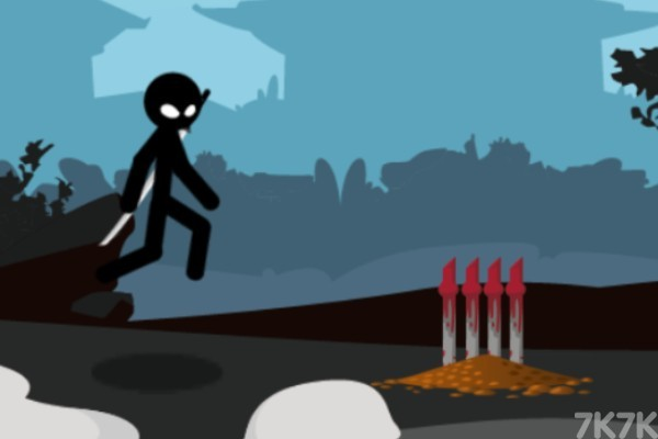 《火柴人复仇战》游戏画面2