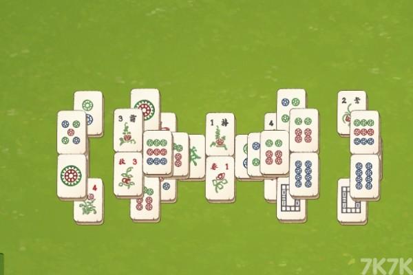 《麻将连连看》游戏画面2