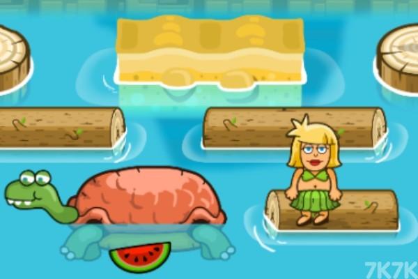 《亚当夏娃过河》游戏画面4