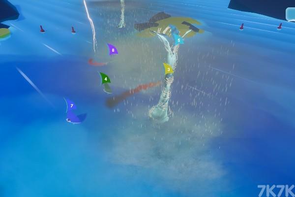 《风吹帆船比赛》游戏画面3