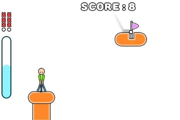 《火柴人高尔夫》游戏画面4