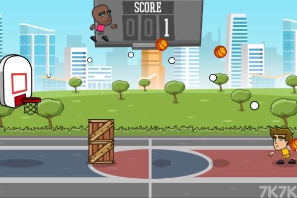 《街头灌篮》游戏画面2