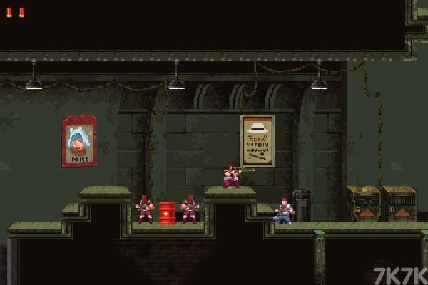 《武装行动》游戏画面4