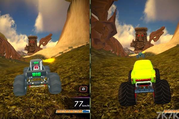 《大脚车极限赛车》游戏画面4