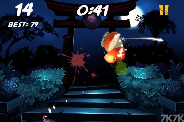 《水果之刃》游戏画面1