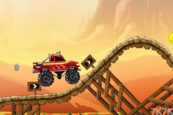 《疯狂怪物大脚车》游戏画面1