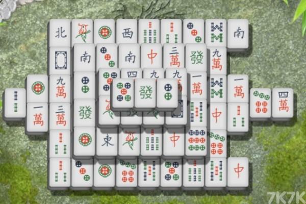 《经典麻将连连看》游戏画面2