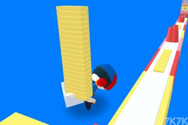 《橡皮人爬楼梯》游戏画面1