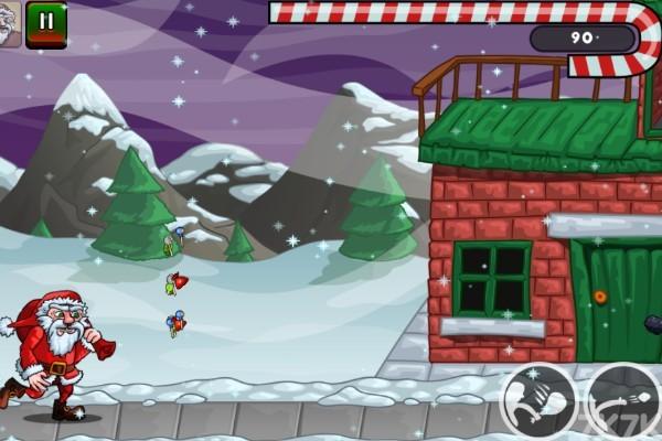 《圣诞老人往前冲》游戏画面3
